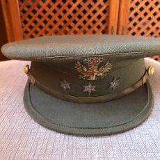Militaria: GORRA CAPITÁN AÑOS 60 EJÉRCITO TIERRA. Lote 99633492