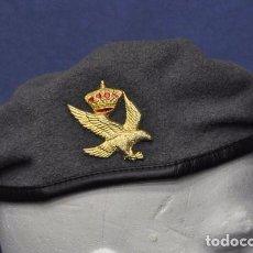 Militaria: BOINA DEL EJÉRCITO DE TIERRA. BRIGADA GALICIA VII. COLOR GRIS. TALLA 57.. Lote 99665931