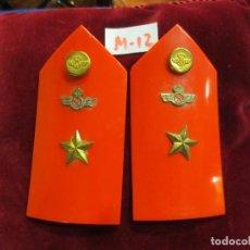 Militaria: HOMBRERAS RÍGIDAS DE SUBTENIENTE DEL EJERCITO DEL AIRE. Lote 99715635