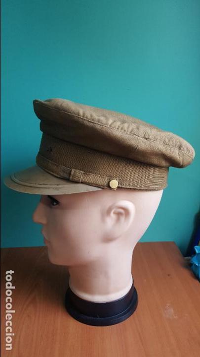 Militaria: gorra de plato guerra civil - Foto 2 - 100150231
