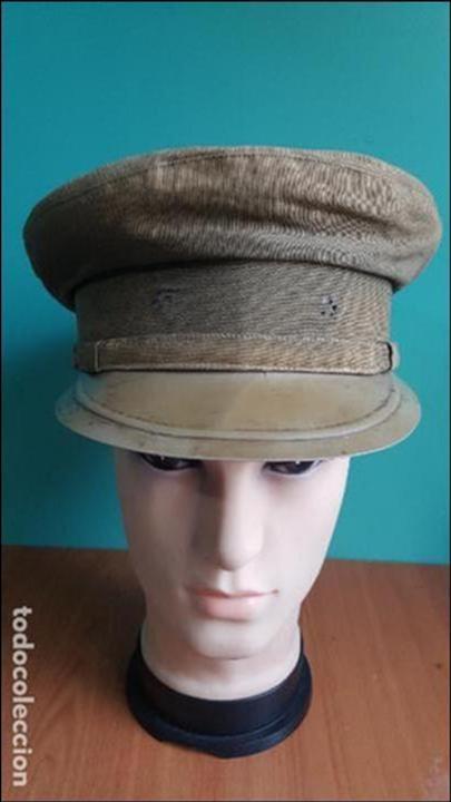 Militaria: gorra de plato guerra civil - Foto 6 - 100150231