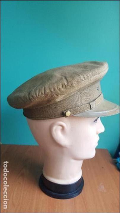 Militaria: gorra de plato guerra civil - Foto 7 - 100150231