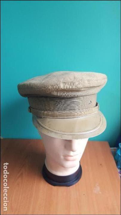 Militaria: gorra de plato guerra civil - Foto 13 - 100150231