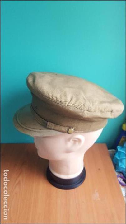 Militaria: gorra de plato guerra civil - Foto 14 - 100150231