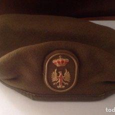 Militaria: BOINA EJÉRCITO ESPAÑOL AÑO 91. Lote 100311942