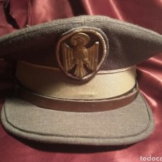 Militaria: GORRA PLATO POLICIA NACIONAL. Lote 100332815