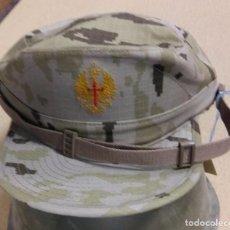 Militaria: GORRA CAMUFLAJE DESIERTO, FONDO VERDE, TALLA M. Lote 100364071