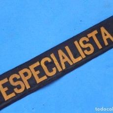 Militaria: CINTA PARA GORRO TIPO LEPANTO. ESPECIALISTA. ARMADA ESPAÑOLA. . Lote 100490951