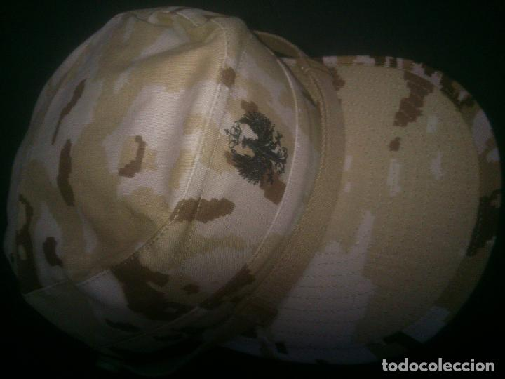 Militaria: GORRA EJERCITO ARIDO PIXELADO TALLA M - Foto 2 - 100640211
