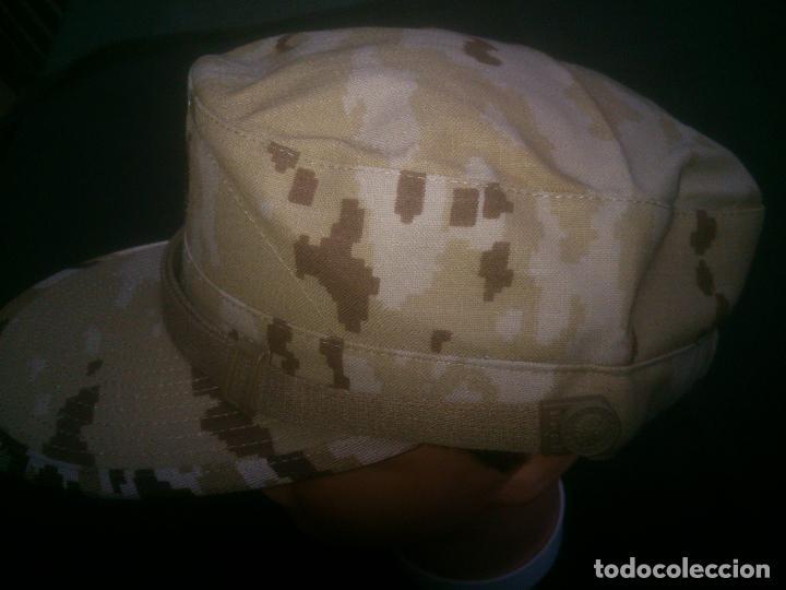 Militaria: GORRA EJERCITO ARIDO PIXELADO TALLA M - Foto 3 - 100640211