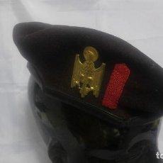 Militaria: BOINA CUERPO DE POLICÍA NACIONAL. MARRÓN.. Lote 100715995