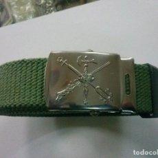 Militaria: CINTURON DE LA LEGION DE LONA. Lote 101131263