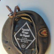Militaria: BOINA MILITAR ESPAÑOLA TALLA 54. Lote 101385304