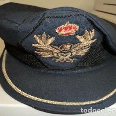 Militaria: GORRA DE PLATO PILOTO CIVIL. Lote 101857755