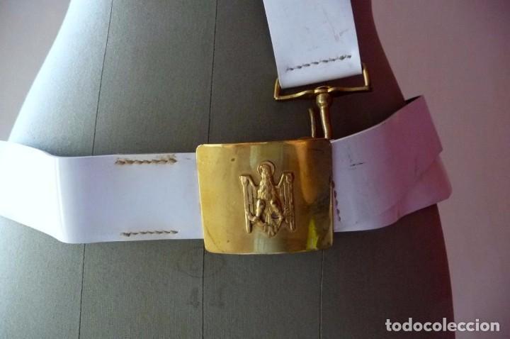 Militaria: (XJ-171030)Cinturón y bandolera de la Policía Armada , Caballería - Foto 3 - 101924079