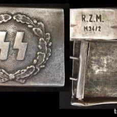 Militaria: HEBILLA NAZI SS GESTAPO - PRECIOSA. Lote 132465178