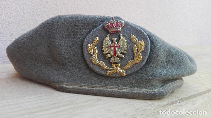 BOINA SUBOFICIAL EJERCICIO DE TIERRA ESPAÑOL 1989 TALLA 57 (Militar - Boinas y Gorras )