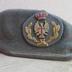Militaria: BOINA SUBOFICIAL EJERCICIO DE TIERRA ESPAÑOL 1989 TALLA 57. Lote 102841543
