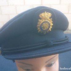 Militaria: GORRA PLATO POLICIA NACIONAL. Lote 103078195