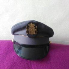 Militaria: ANTIGUA GORRA DE PLATO, POLICIA MUNICIPAL.. Lote 181682398