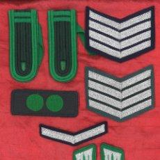 Militaria: LOTE HOMBRERAS Y GALONES. ALEMANIA. Lote 103723643
