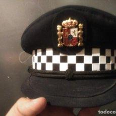 Militaria: GORRA DE POLICIA MUNICIPAL ACTUAL DE MALAGA, ESCUDO GENERICO. Lote 103809679