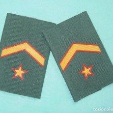 Militaria: HOMBRERAS MANGUITOS GUARDIA CIVIL. Lote 104286211