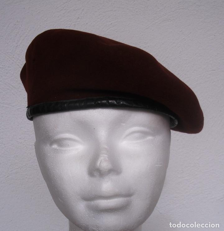 boina militar francesa. granate. beret rouge. p - Comprar Boinas y ... 4fabf986843
