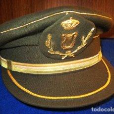 Militaria: GORRA DE PLATO DE SUBOFICIAL MÚSICO MILITAR. TALLA 59-60. ÉPOCA ACTUAL.. Lote 105342239