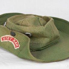 Militaria: ORIGINAL PAMELA/BONNIE VIETNAM FABRICACIÓN LOCAL. USSF. FUERZAS ESPECIALES. GREEN BERETS.. Lote 105681347