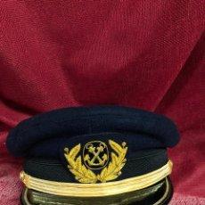 Militaria: ANTIGUA GORRA DE LA MARINA MERCANTE EPOCA REPUBLICA. Lote 147250661
