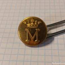 Militaria: BOTÓN M CORONADO, 18 MM. Lote 106017371