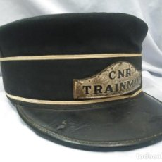 Militaria: CANADÁ - MAQUINISTA TREN - CANADIAN NATIONAL RAILWAY - 1940/50 - FERROCARRIL. Lote 106097183