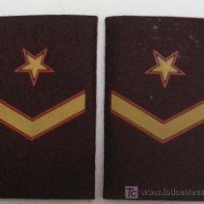 Militaria: MANGUITOS - HOMBRERAS DE SUBTENIENTE (CÓDIGO OTAN) - FUERZAS ARMADAS ESPAÑA - ESTRENAR. Lote 106391111