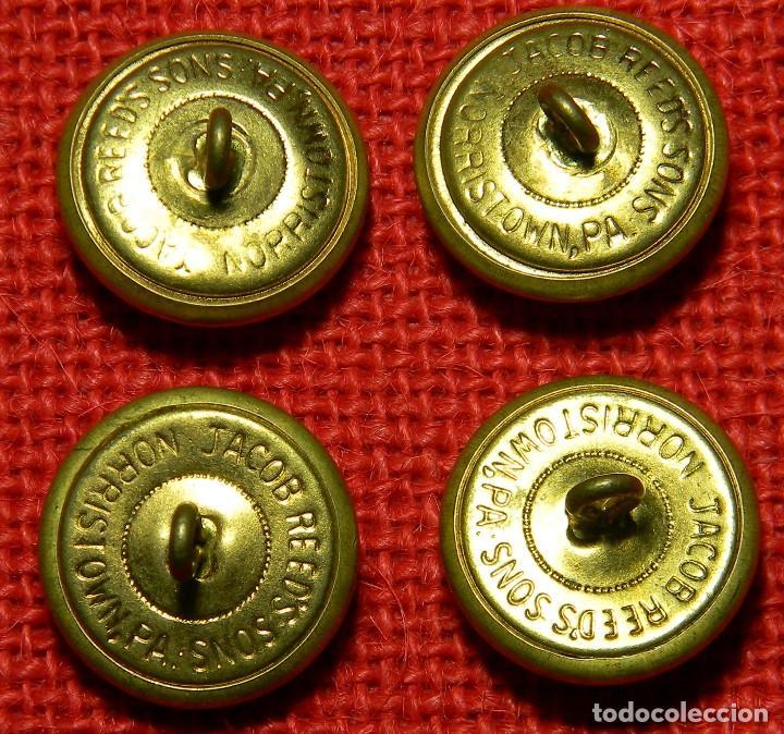 Militaria: Lote de botones originales US Navy - Diametro variado aproximadamente 25 mm - Foto 2 - 106636119