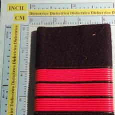Militaria: HOMBRERA MANGUITO MILITAR. CARRISTAS EJÉRCITO ESPAÑOL. CABO. Lote 107381487