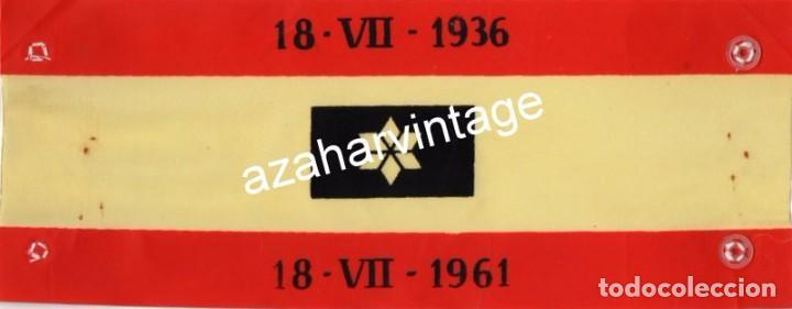 BRAZALETE ALFERECES PROVISIONALES, 25 ANIVERSARIO ALZAMIENTO (Militar - Otros relacionados con uniformes )