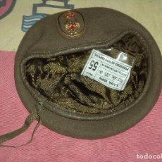 Militaria: BOINA EJRCITO DE TIERRA AÑO 1990 TALLA 55. Lote 107806063