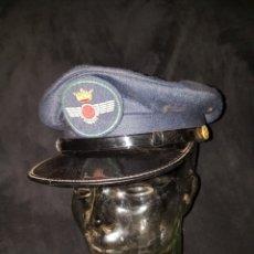 Militaria: GORRA PLATO AVIACION FRANQUISTA GORRAS VILLAVERDE. Lote 107809892