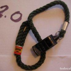 Militaria: ANTIGUO PITO POLICIA NACIONAL - ENVIO INCLUIDO A ESPAÑA. Lote 108313075