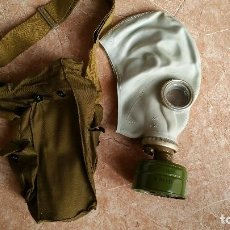 Militaria: MASCARA ANTIGAS SOVIÉTICA CON SU BOLSA.. Lote 108328519