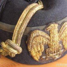 Militaria: GORRO FEZ DE GENERAL FASCISTA ITALIANO DE LA MVSN. SEGUNDA GUERRA MUNDIAL.. Lote 108881283