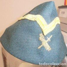 Militaria: GORRILLO CUARTELERO DE JEFE DE LA GUARDIA CIVIL. Lote 108900991