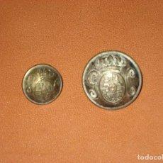 Militaria: BOTONES GUARDIA CIVIL. CUBA 1898. Lote 109076679