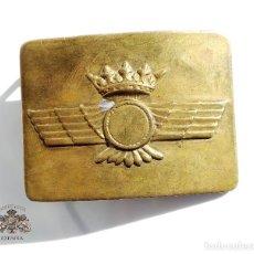 Militaria: HEBILLA DE AVIACIÓN ÉPOCA DE FRANCO - CASA CERECEDA. Lote 109355091