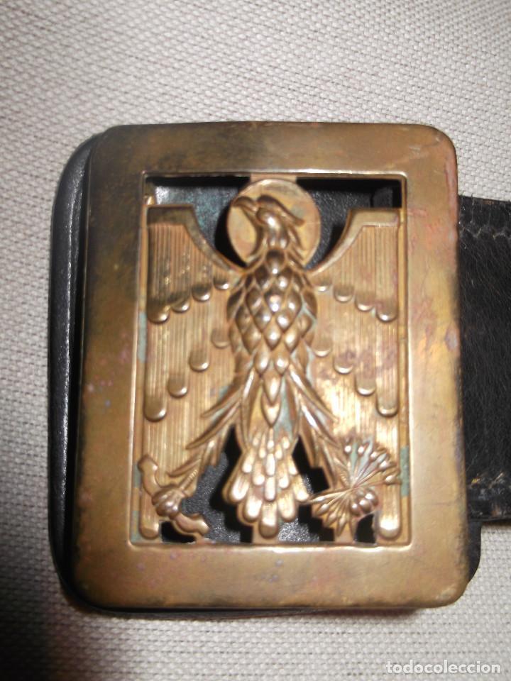 CINTURON POLICIA ARMADA CON CANGREJO PARA PISTOLA (Militar - Cinturones y Hebillas )