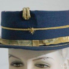 Militaria: GORRA TERESIANA AZUL DE LA BANDA DE MUSICA DE LA CRUZ ROJA 17,5 CENTÍMETROS DE LARGA. Lote 109522663