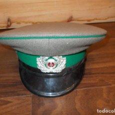 Militaria: GORRA DE PLATO RUSA MED.: 18X18 CMS. (B) . Lote 109542915