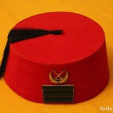 Militaria: TARBUSH CABO DE REGULARES 5. Lote 109898023