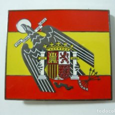 Militaria: HEBILLA ÁGUILA DE SAN JUAN ESCUDO DE ESPAÑA (FALANGE). Lote 110090763